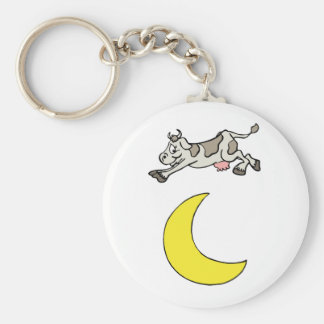 The Cow Jumped Over The Moon Key Chain