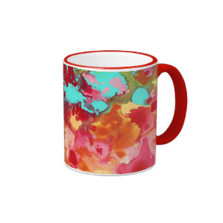The Cow Jumped Over the Moon Ringer Mug