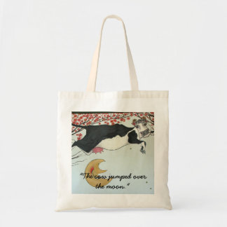 The Cow jumped over the Moon. Tote Bag