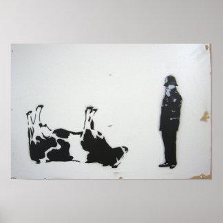 The Cow Plakat