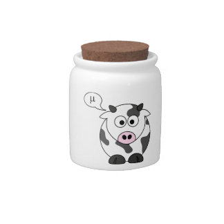 The Cow Says μ Candy Dish