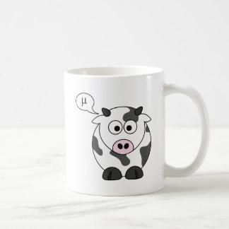 The Cow Says μ Coffee Mug