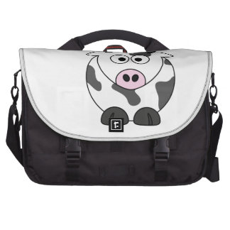 The Cow Says μ Laptop Commuter Bag
