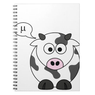 The Cow Says μ Spiral Note Books