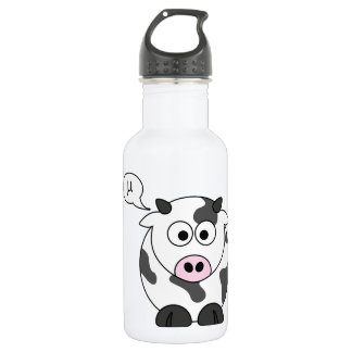The Cow Says μ Water Bottle