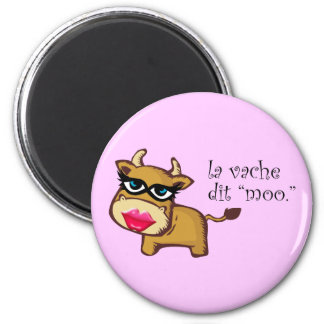 """""""The cow says moo"""" Magnet"""