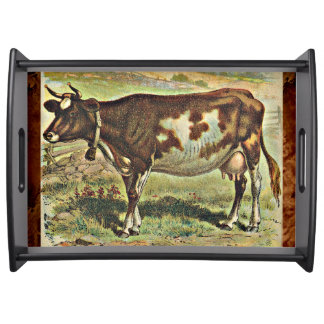 The Cow Serving Tray