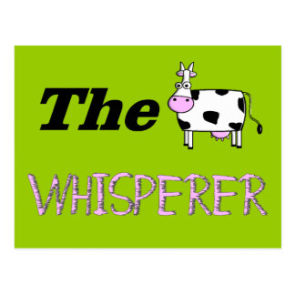 The Cow Whisperer Gifts Postcards
