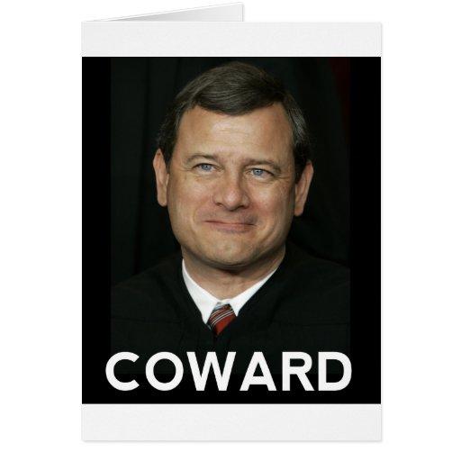 The Coward Card