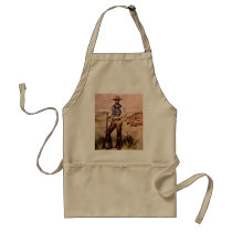 The Cowboy Adult Apron