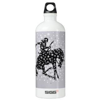 The cowboy. aluminum water bottle