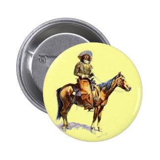The Cowboy 2 Inch Round Button