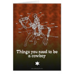 The Cowboy Cards