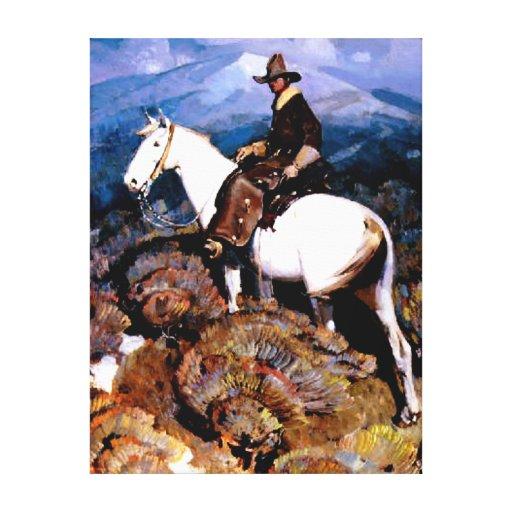 The Cowboy Gallery Wrap Canvas