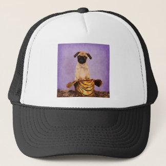 The Cowboy Pug Trucker Hat