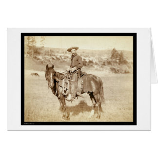 The Cowboy SD 1887 Greeting Card