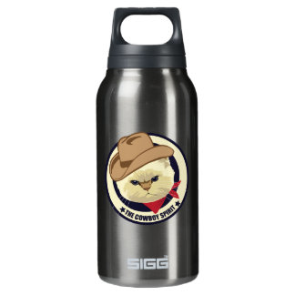 The cowboy spirit insulated water bottle