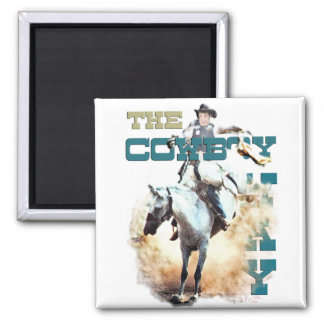 The Cowboy Way -rodeo gifts & tees Refrigerator Magnets