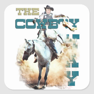 The Cowboy Way -rodeo gifts & tees Sticker