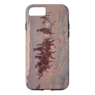 The Cowpunchers (w/c on paper) iPhone 8/7 Case