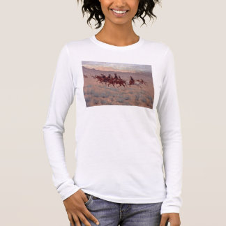The Cowpunchers (w/c on paper) Long Sleeve T-Shirt