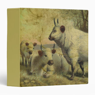 The Cows Came Home 3 Ring Binder
