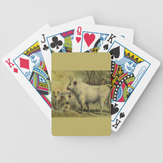 The Cows Came Home Bicycle Playing Cards