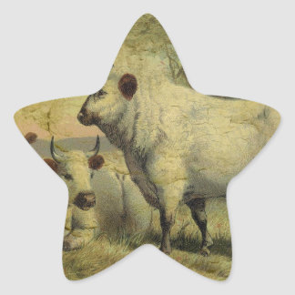 The Cows Came Home Star Sticker