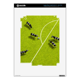 The cows playing soccer iPad 3 skin