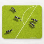 """The cows playing soccer mouse pad<br><div class=""""desc"""">The cows playing soccer 