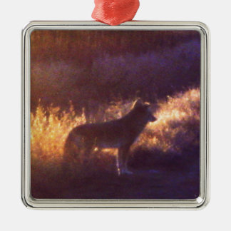 THE COYOTE METAL ORNAMENT