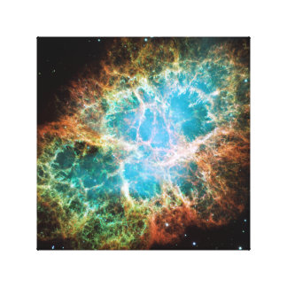 The Crab Nebula Canvas Print