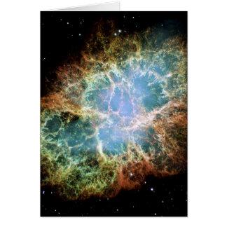 The Crab Nebula Card
