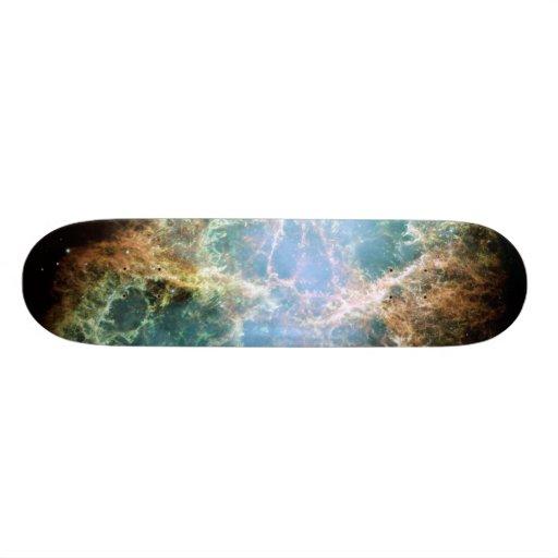 The Crab Nebula Custom Skate Board