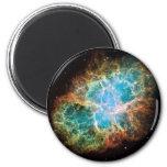 The Crab Nebula Fridge Magnet