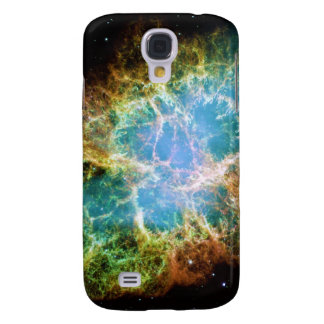 The Crab Nebula from the Hubble Space Telescope Galaxy S4 Cases