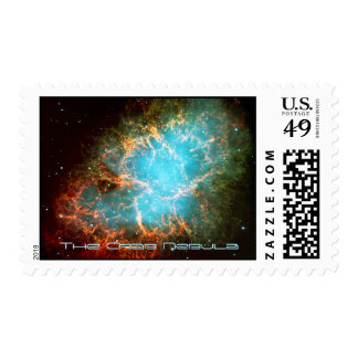 The Crab Nebula in Taurus - Breathtaking Universe Postage