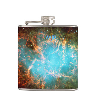 The Crab Nebula in Taurus Hip Flask