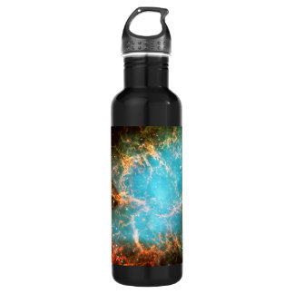 The Crab Nebula in Taurus Stainless Steel Water Bottle