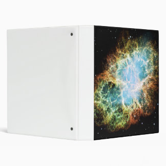 The Crab Nebula M1 NGC 1952 Taurus A 3 Ring Binder