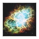 The Crab Nebula M1 NGC 1952 Taurus A Stretched Canvas Prints