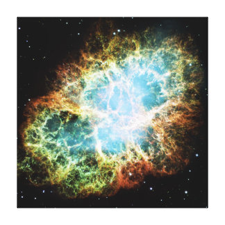 The Crab Nebula M1 NGC 1952 Taurus A Canvas Print