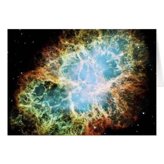 The Crab Nebula M1 NGC 1952 Taurus A Card