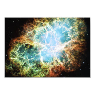 The Crab Nebula M1 NGC 1952 Taurus A Card