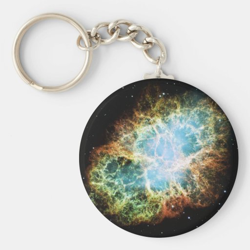 The Crab Nebula M1 NGC 1952 Taurus A Keychain