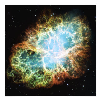 The Crab Nebula M1 NGC 1952 Taurus A Photo Print