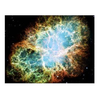 The Crab Nebula M1 NGC 1952 Taurus A Postcard