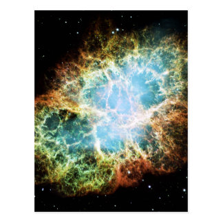 The Crab Nebula M1 NGC 1952 Taurus A Postcard