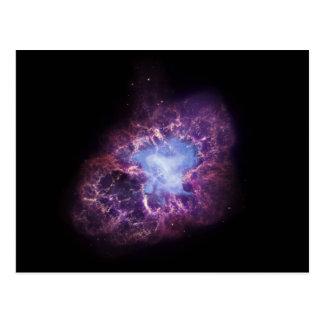 The Crab Nebula Postcard