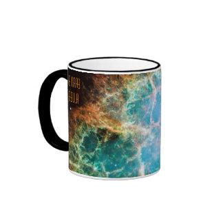 The Crab Nebula Ringer Coffee Mug